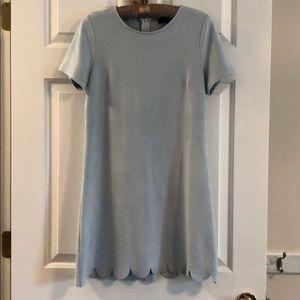 Lulu's baby blue dress - S